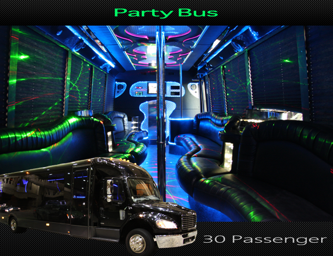 What happens in party bus