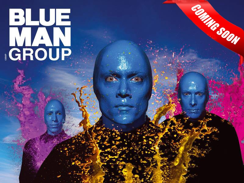 Blue Man Group @Luxor hotel